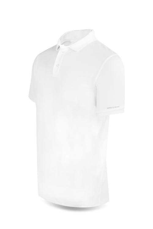 Swissgear 1000 Golf Polo Shirt - Large - White
