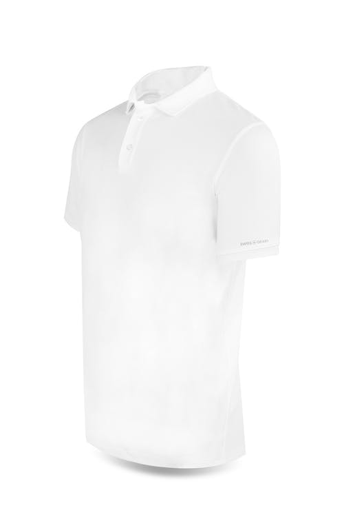 Swissgear 1000 Golf Polo Shirt - Medium - White
