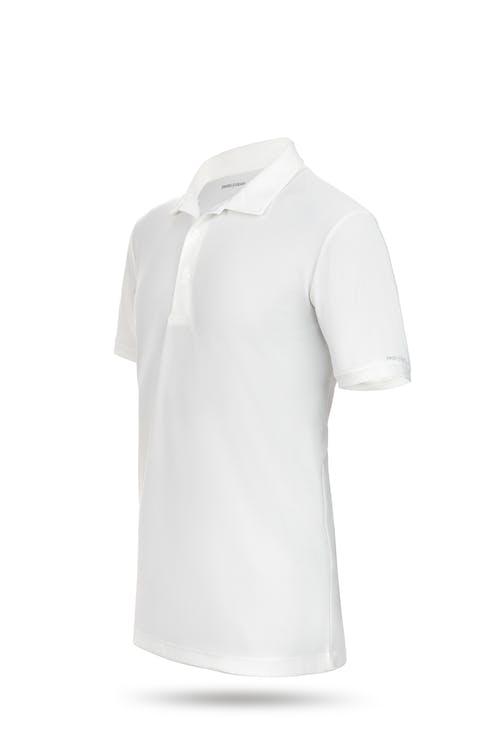 Swissgear 1000 Golf Polo Shirt White