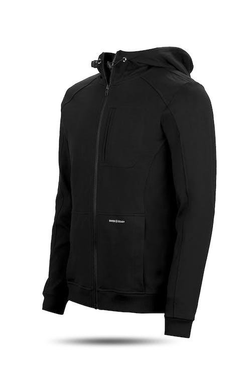 Swissgear 1000 Cord Hoodie - Medium - Black