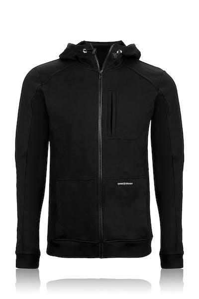 Swissgear 1000 Cord Hoodie - Black