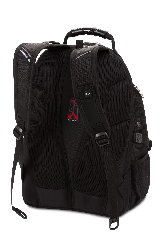 SwissGear TSA Approved 15 Inch Laptop Backpack Travel Gear 1900 Grey Heather//Black