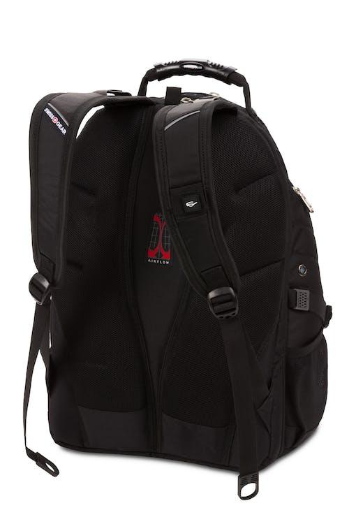 9052e047f845 Swissgear 1900 ScanSmart Laptop Backpack Padded shoulder straps with built- in suspension