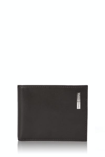 Swissgear Six Pocket Card Case Wallet - Dark Brown
