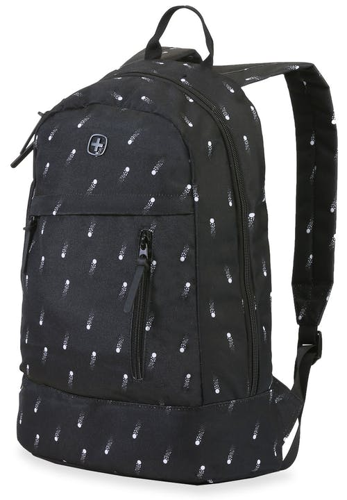 SWISSGEAR 5319 Laptop Backpack - Black Cosmic/White Dots