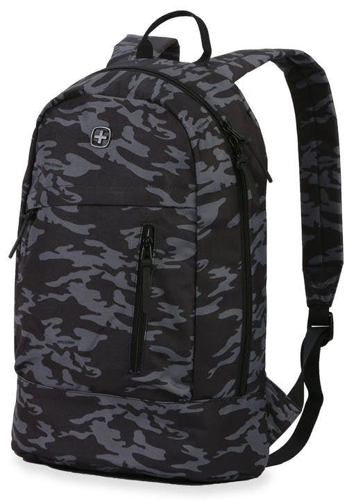 SWISSGEAR 5319 Laptop Backpack - Grey Camo/Black