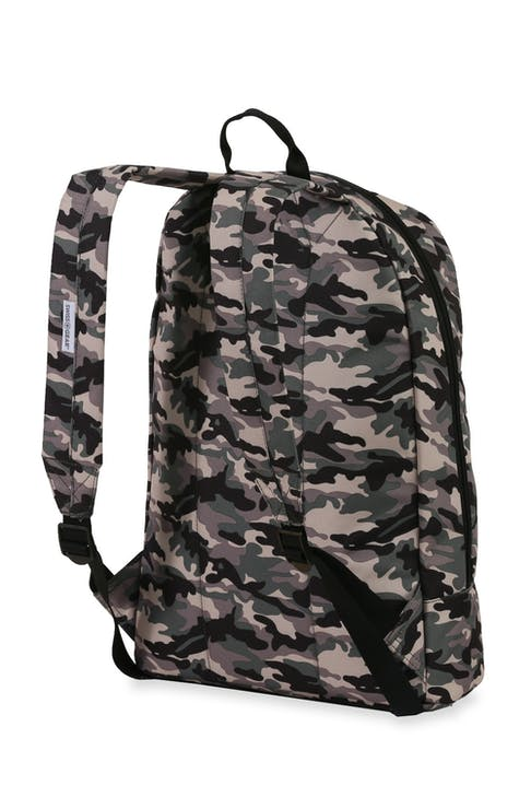 Swissgear 5319 Laptop Backpack with Patches Padded shoulder straps