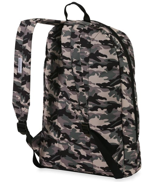 SWISSGEAR 5319 Laptop Backpack - Green Camo w/ Patches