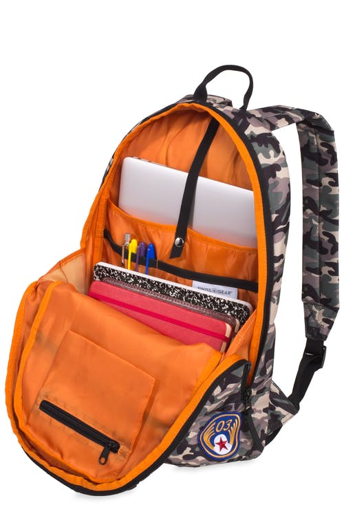 "Swissgear 5319 Laptop Backpack with Patches 13"" Laptop-specific pocket"