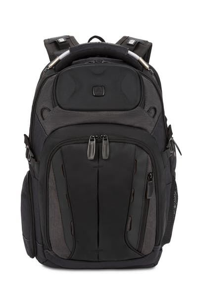 Swissgear 2739 USB ScanSmart Laptop Backpack with LED Light - Heather Grey