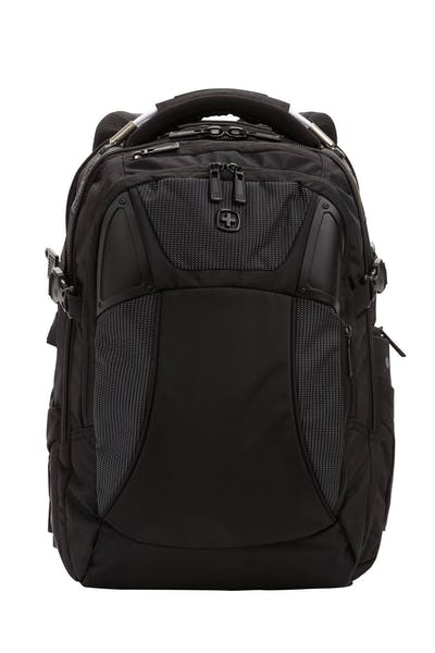 b9f6a26284a Online Exclusive Swissgear 2700 USB ScanSmart Laptop Backpack with LED  Light - Black with White Dots