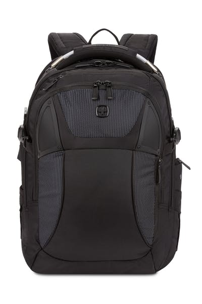 Swissgear 2760 USB ScanSmart Laptop Backpack with LED Light - Black with White Dots