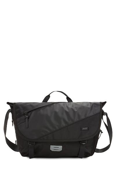 Swissgear 2870 USB Messenger Bag - Black/Shiny