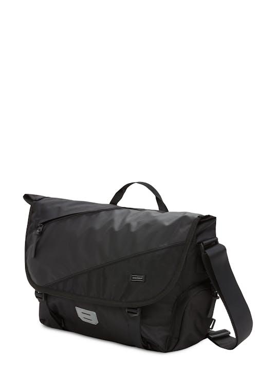Swissgear 2870 Messenger Bag Black Shiny