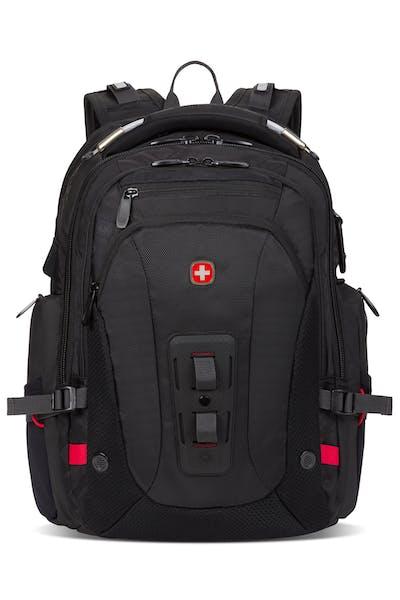 Swissgear 2930 USB ScanSmart Laptop Backpack with LED Light - Black
