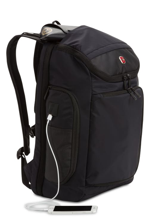 Swissgear 2936 USB ScanSmart Laptop Backpack Integrated USB port