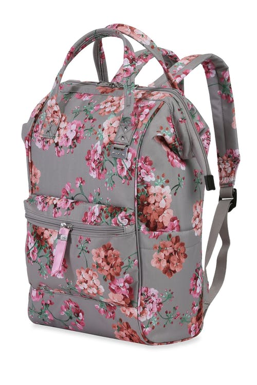 2d9e3d0d01e8 Swissgear 3576 Artz Laptop Backpack - Khaki Floral