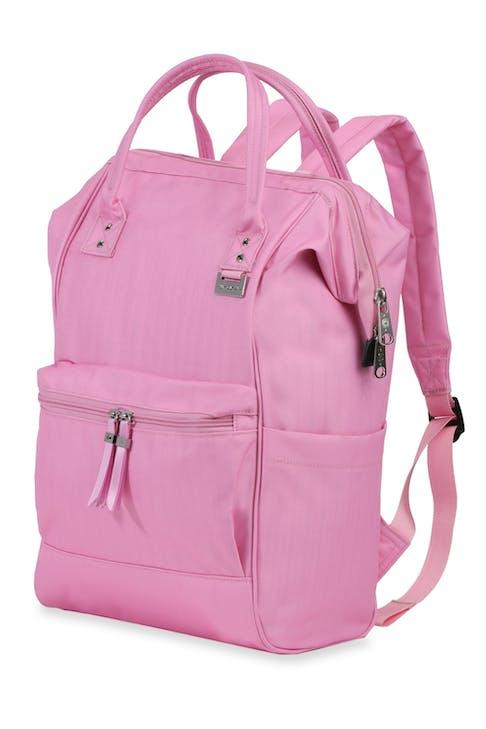Swissgear 3576 Laptop Backpack Pink ribbon tassel detailing