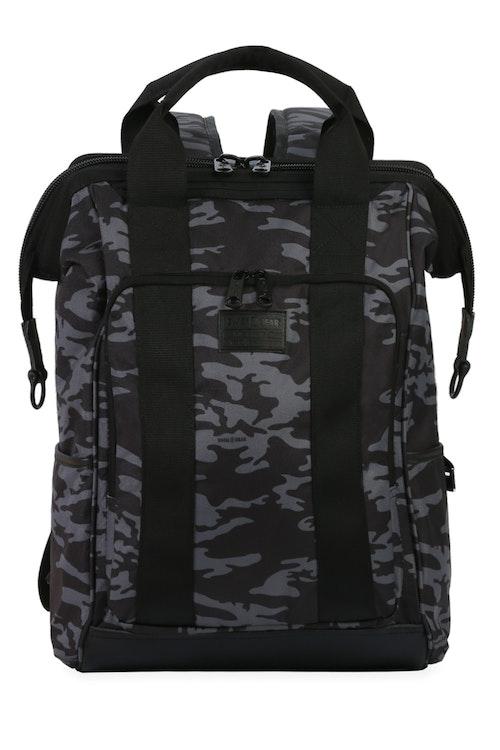 Swissgear 3577 Laptop Backpack - Grey Camo/Black