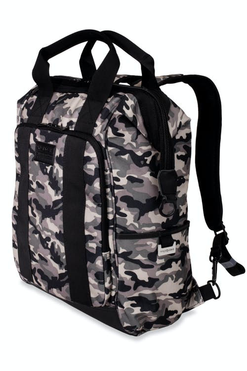 Swissgear 3577 Artz Laptop Backpack - Green Camo/Black