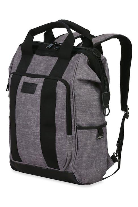 Swissgear 3577 Laptop Backpack - Gray Black