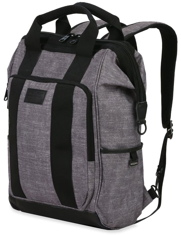 SwissGear 3577 Artz 	Laptop Backpack - Heather Grey/Black