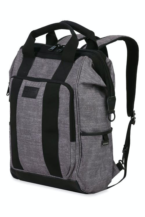 Swissgear 3577 Artz Laptop Backpack - Gray Black