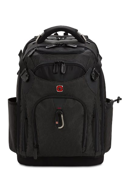 Swissgear 3636 USB Work Pack Pro Tool Backpack - Black with White Dots