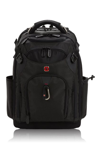 8de2ee0f4d88 Online Exclusive Swissgear 3636 USB Work Pack Pro Tool Backpack - Black  with White Dots