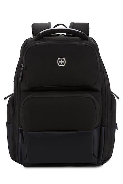 Swissgear 3672 USB ScanSmart Laptop Backpack - Black