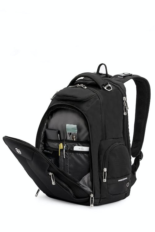 Swissgear 5527 Scansmart Laptop Backpack Large main zip compartment