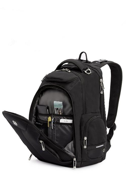 SWISSGEAR 5527 Scansmart Backpack Front zippered organizer compartment