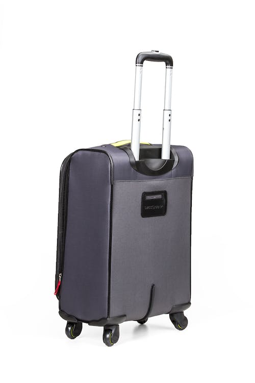 "SWISSGEAR 6262 19"" Softside Expandable Carry-on Spinner Luggage - Integrated ID tag"