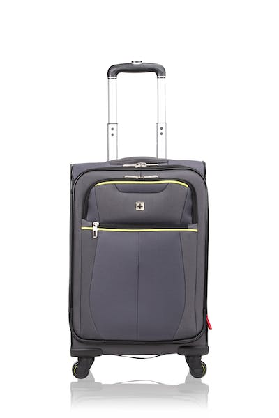 "Swissgear 6262 19"" Softside Expandable Carry-on Spinner Luggage - Gray"