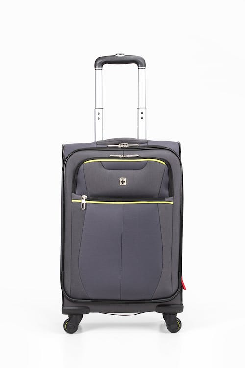 """Swissgear 6262 19"""" Expandable Carry-on Spinner Luggage - Two front pockets"""