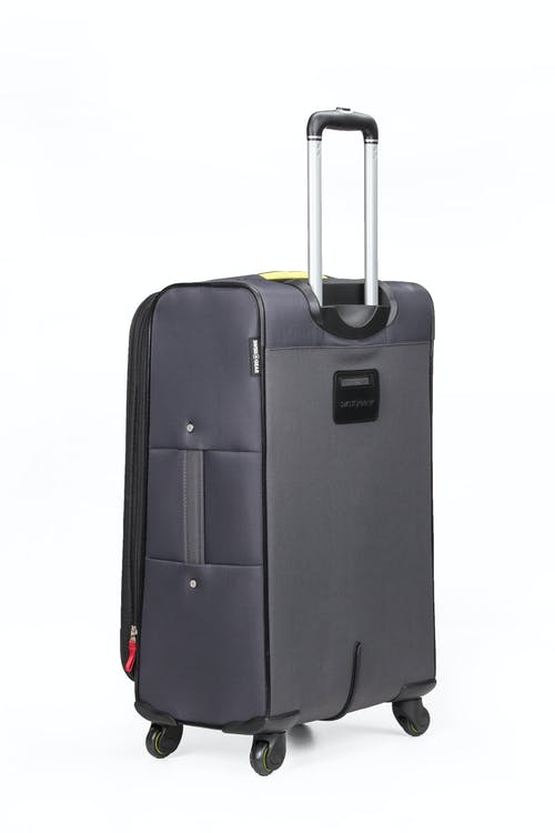 "Swissgear 6262 24"" Softside Expandable Spinner Luggage - Integrated ID tag"