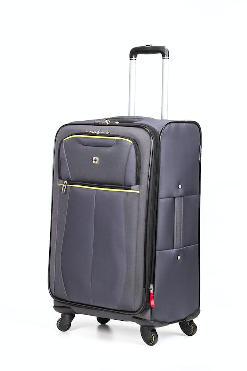 "Swissgear 6262 24"" Softside Expandable Spinner Luggage - Gray"
