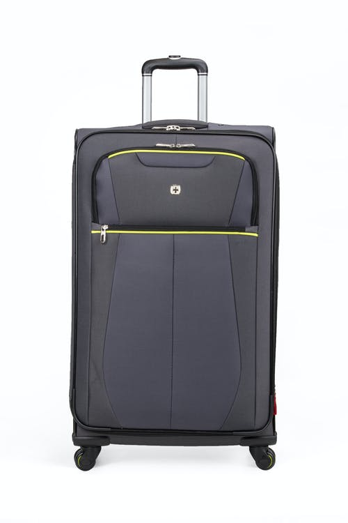 "SWISSGEAR 6262 28"" Softside Expandable Spinner Luggage - Two front pockets"
