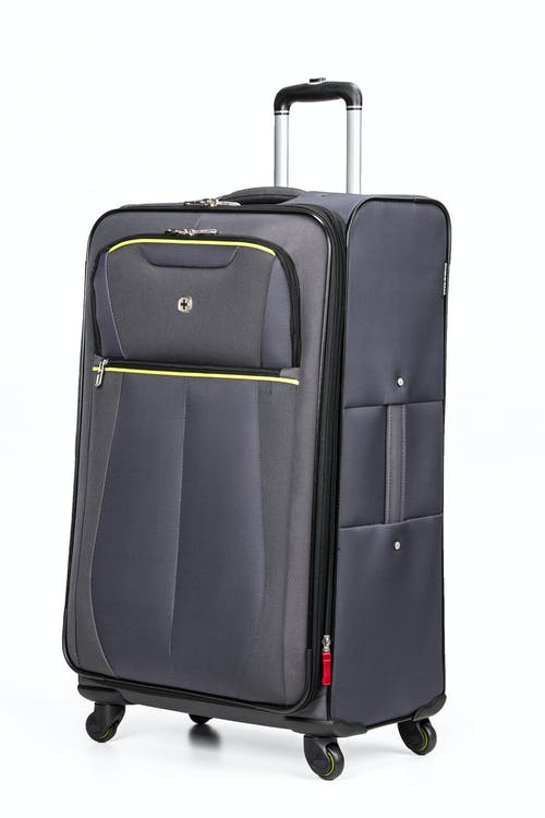 "SWISSGEAR 6262 28"" Softside Expandable Spinner Luggage - Gray"