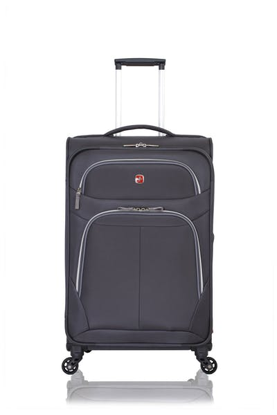 "SWISSGEAR 6270 24.5"" EXPANDABLE LITEWEIGHT SPINNER LUGGAGE"