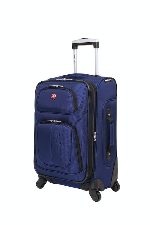 "Swissgear 6283 21"" Expandable Spinner Luggage - Blue"