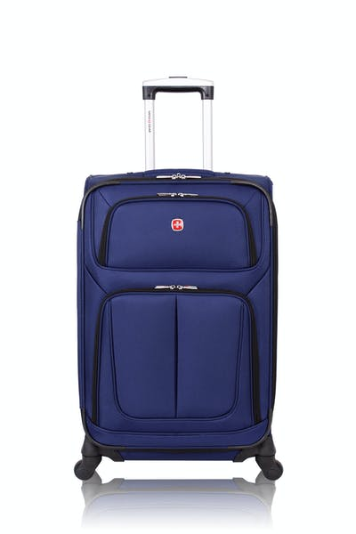 "Swissgear 6283 24.5"" Expandable Spinner Luggage - Blue"