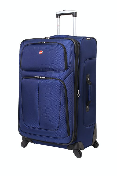"Swissgear 6283 28"" Expandable Spinner Luggage – Blue"