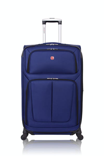 """Swissgear 6283 28"""" Expandable Spinner Luggage - Blue"""