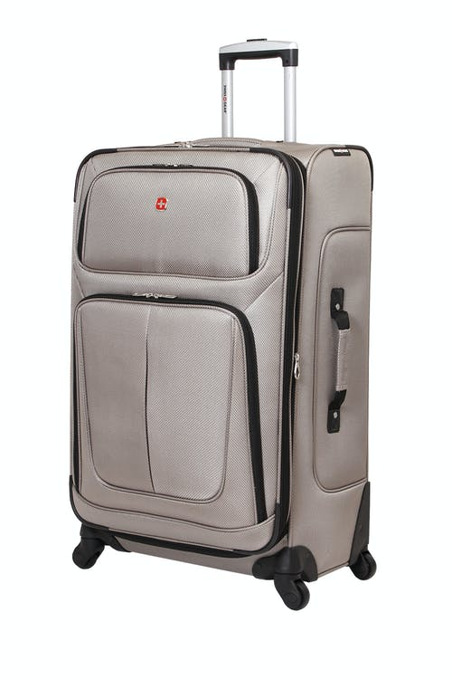 "Swissgear 6283 28"" Expandable Spinner Luggage – Pewter"