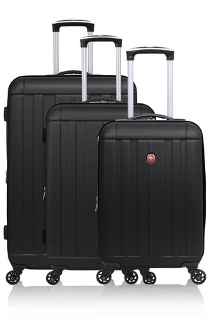 Swissgear 6297 Expandable 3pc Hardside Spinner Luggage Set