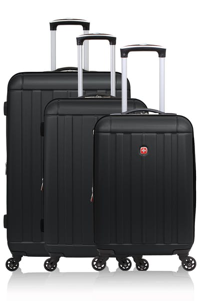 Swissgear 6297 Expandable Hardside Spinner Luggage 3pc set