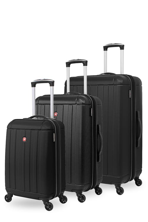 Swissgear 6297 Expandable 3pc Hardside Spinner Luggage Set