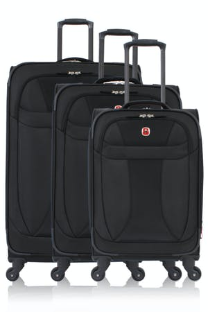 Swissgear 7208 Expandable Liteweight Spinner Luggage 3-Piece-Set
