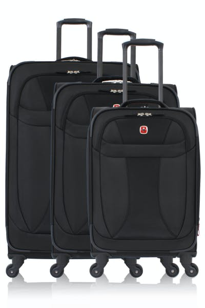 Swissgear 7208 Expandable Liteweight 3pc Spinner Luggage Set